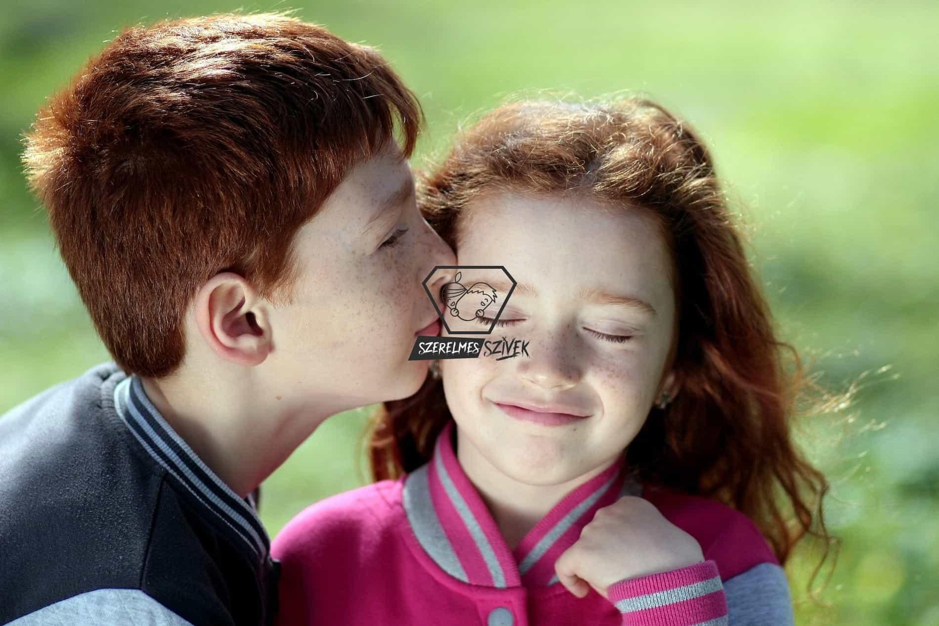 Az első csók egy fiú életében